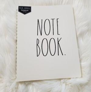 RAE DUNN Large Spiral Notebook